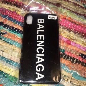 Balenciaga iPhone case